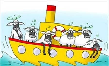 Овца или корабль?